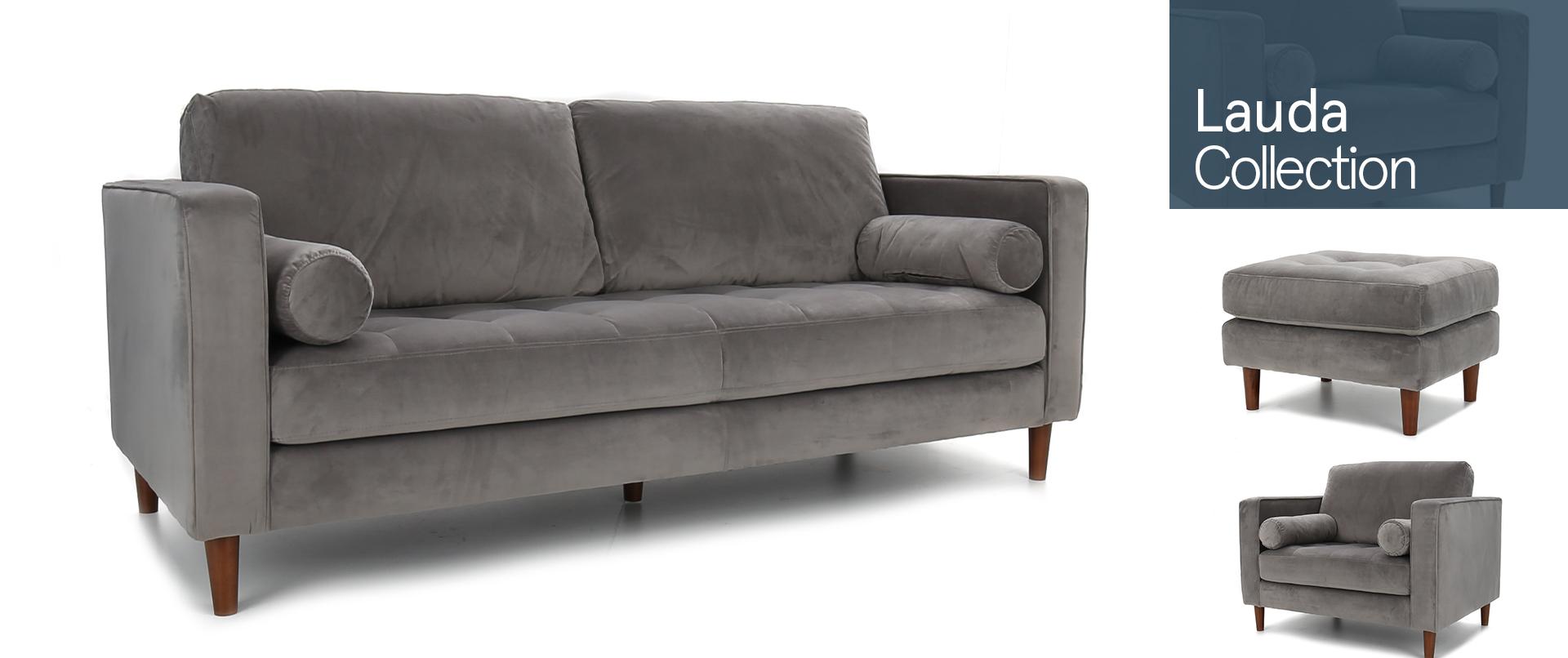 Lauda Fabric Sofa Cousins Furniture